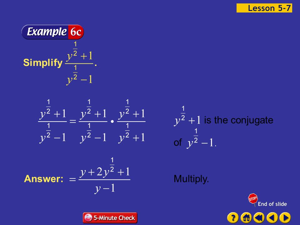 5.7 – Rational Exponents Basic concept - ppt download