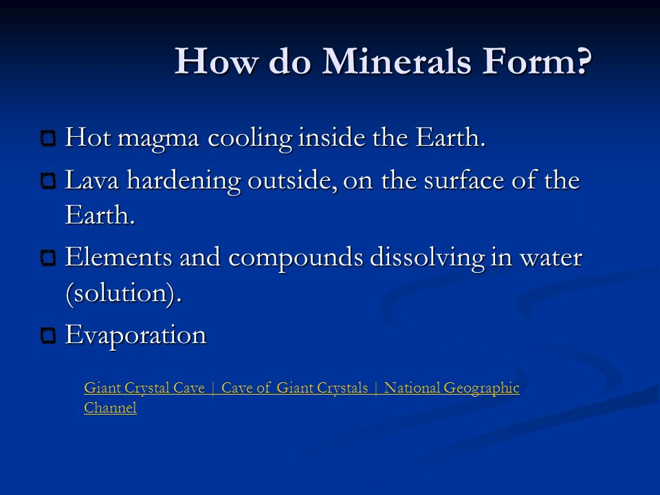 Geology MINERALS BE SURE TO READ THE NOTES !. - ppt download