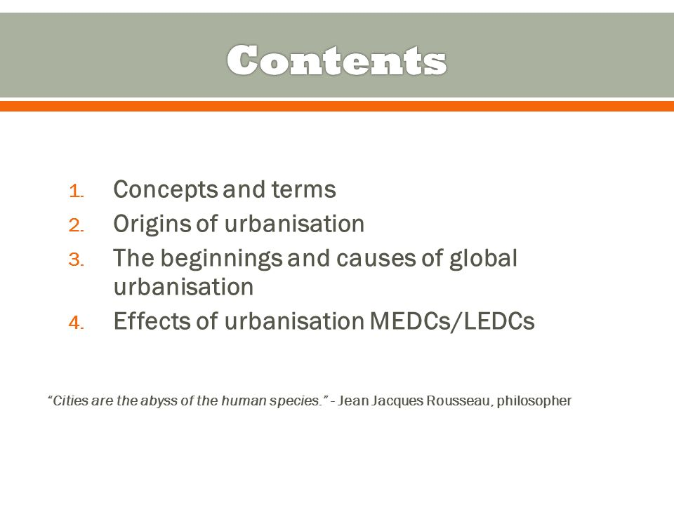 geo trends in urbanisation medc ledc Key terms birth rate, death rate and natural change you should know already infant mortality rates - the number of children in a year who die before their fir.