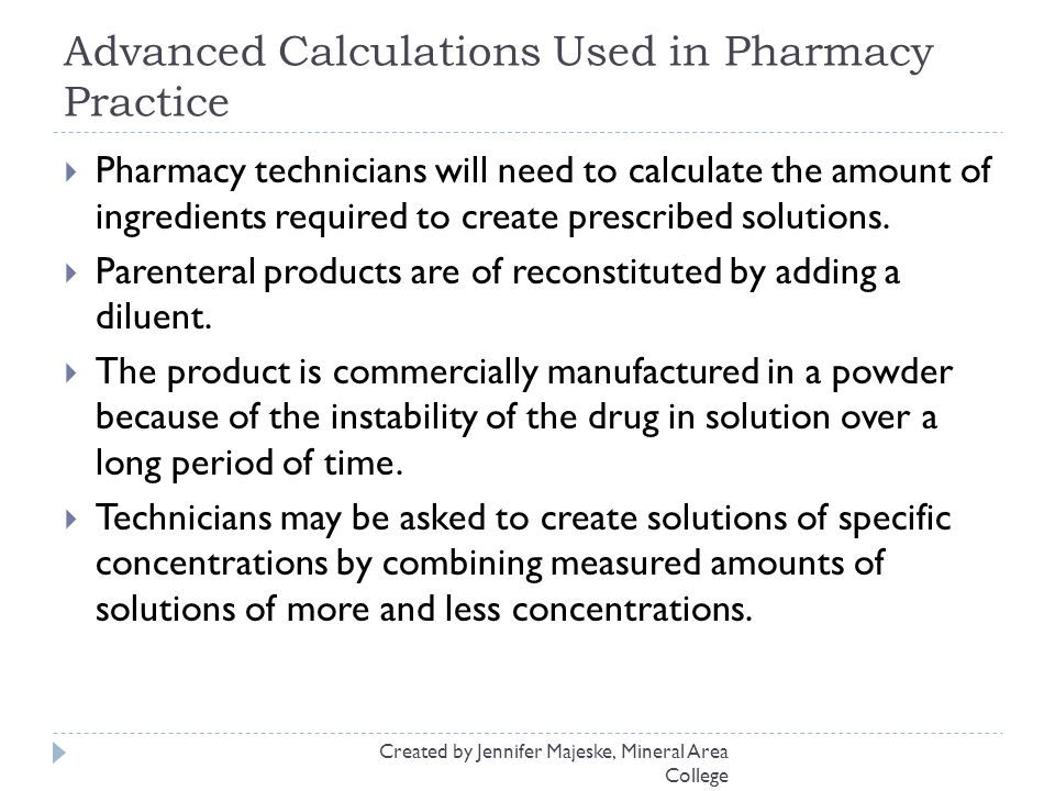 Pharmaceutical Measurements and Calculations ppt download – Pharmacy Math Worksheets