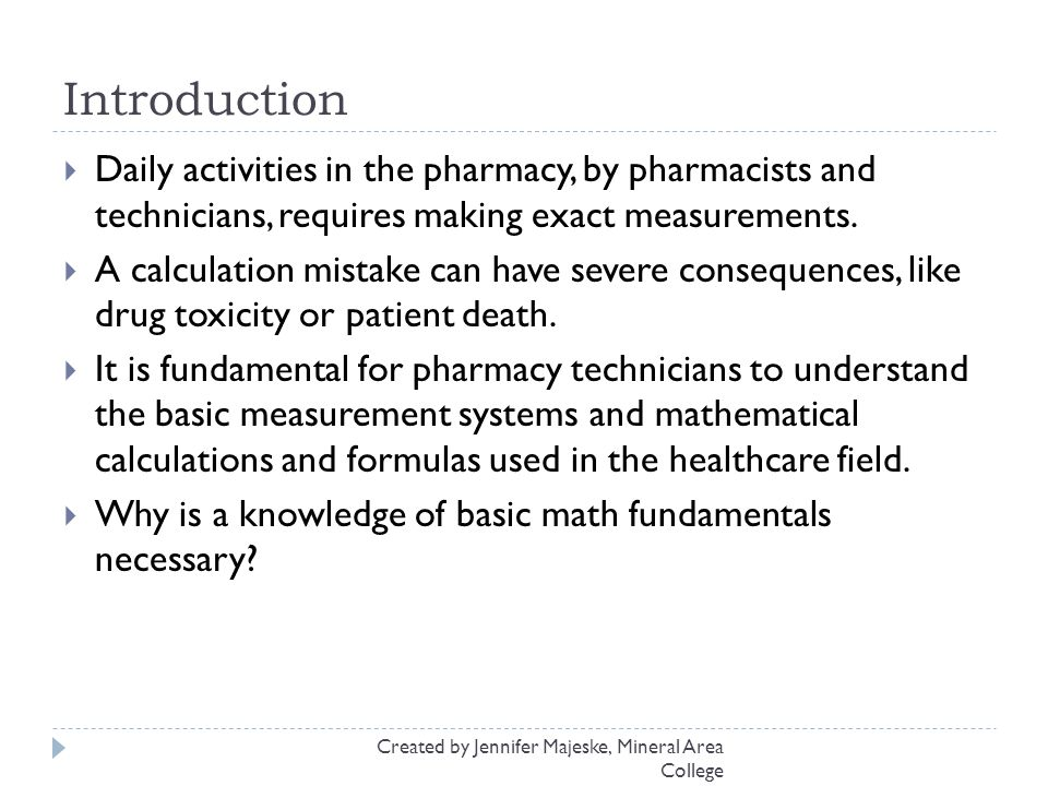 Pharmaceutical Measurements and Calculations ppt download – Pharmacy Technician Math Worksheets