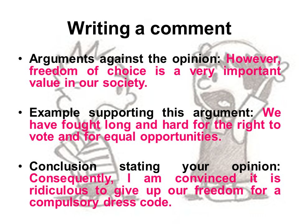 write a comment Comments - how to state your opinion english grammar online in english lessons, this is also a popular way of testing your english writing skills preparation.