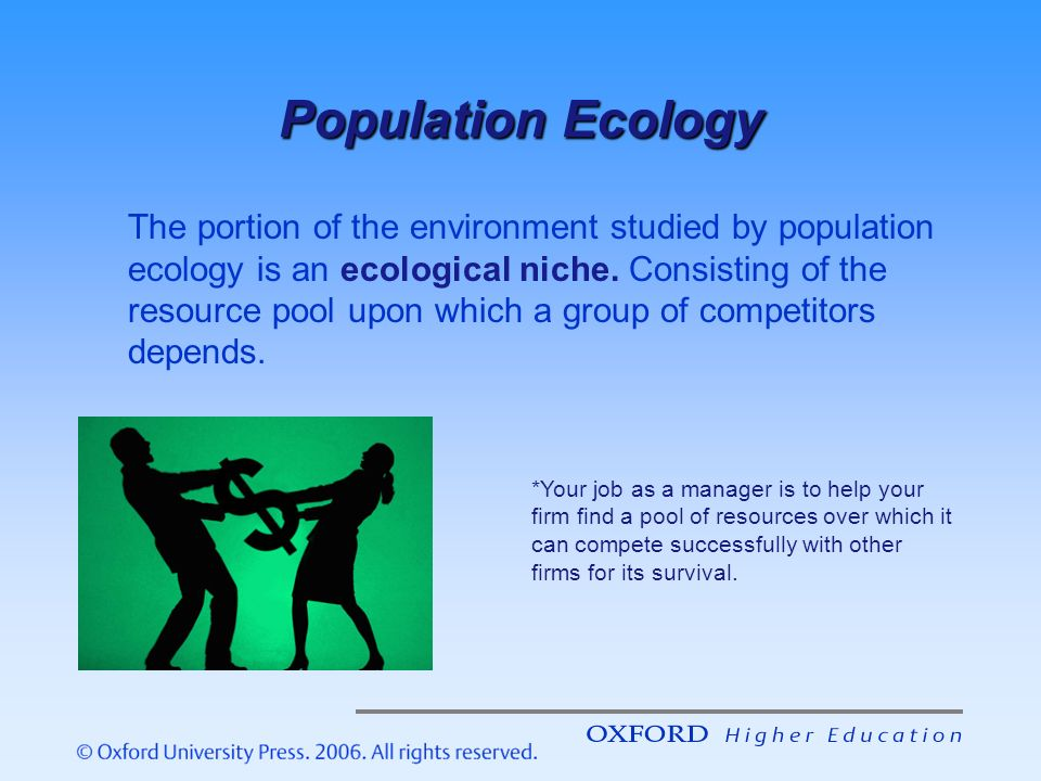 the population ecology of organizations Wisconsin department of  organizations that collectively bring a wealth of interests and experience to the  and the public regarding turkey population ecology.