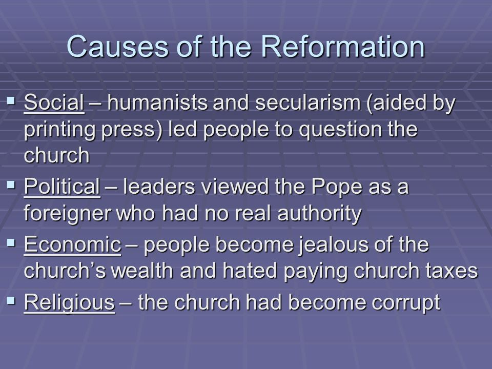 the changes that came with the reformation of the roman catholic church in the 16th century The protestant reformation was a 16th-century split all mainstream protestants generally date their doctrinal separation from the roman catholic church to the 16th century some historians believe that the era of the reformation came to a close when roman catholic france allied.