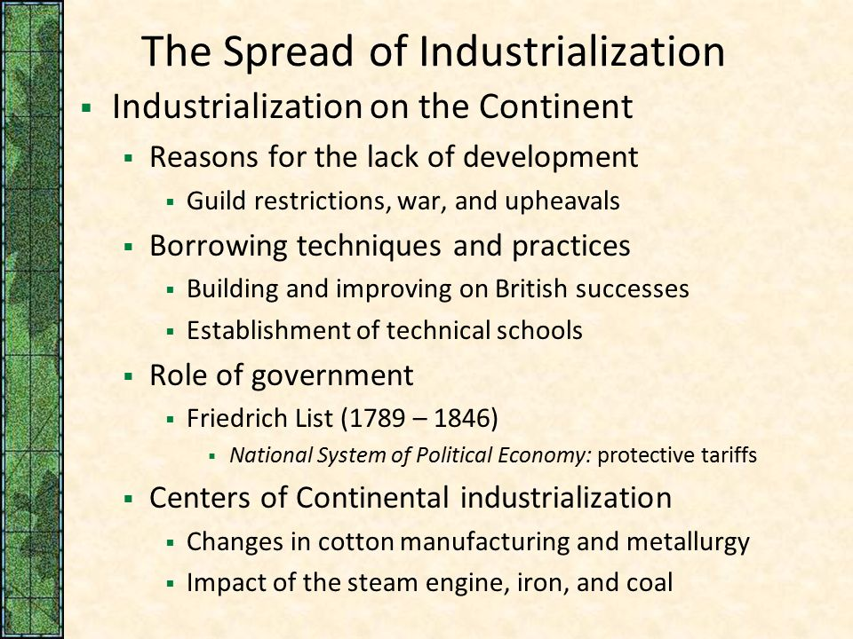 the effects of post industrialism in the political economy of europe In the political sphere also the industrial revolution had manifold impact in the first place it led to colonization of asia and africa great britain and other industrial countries of europe began to look for new colonies which could supply them the necessary raw materials for feeding their .
