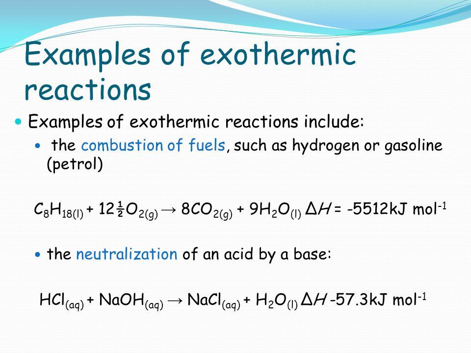 Endothermic Reaction Example | www.pixshark.com - Images ...