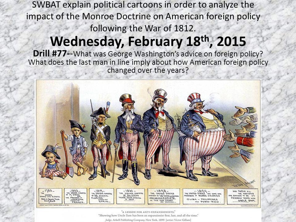 Monroe Doctrine Political Cartoon Worksheet – Political Cartoon Worksheet