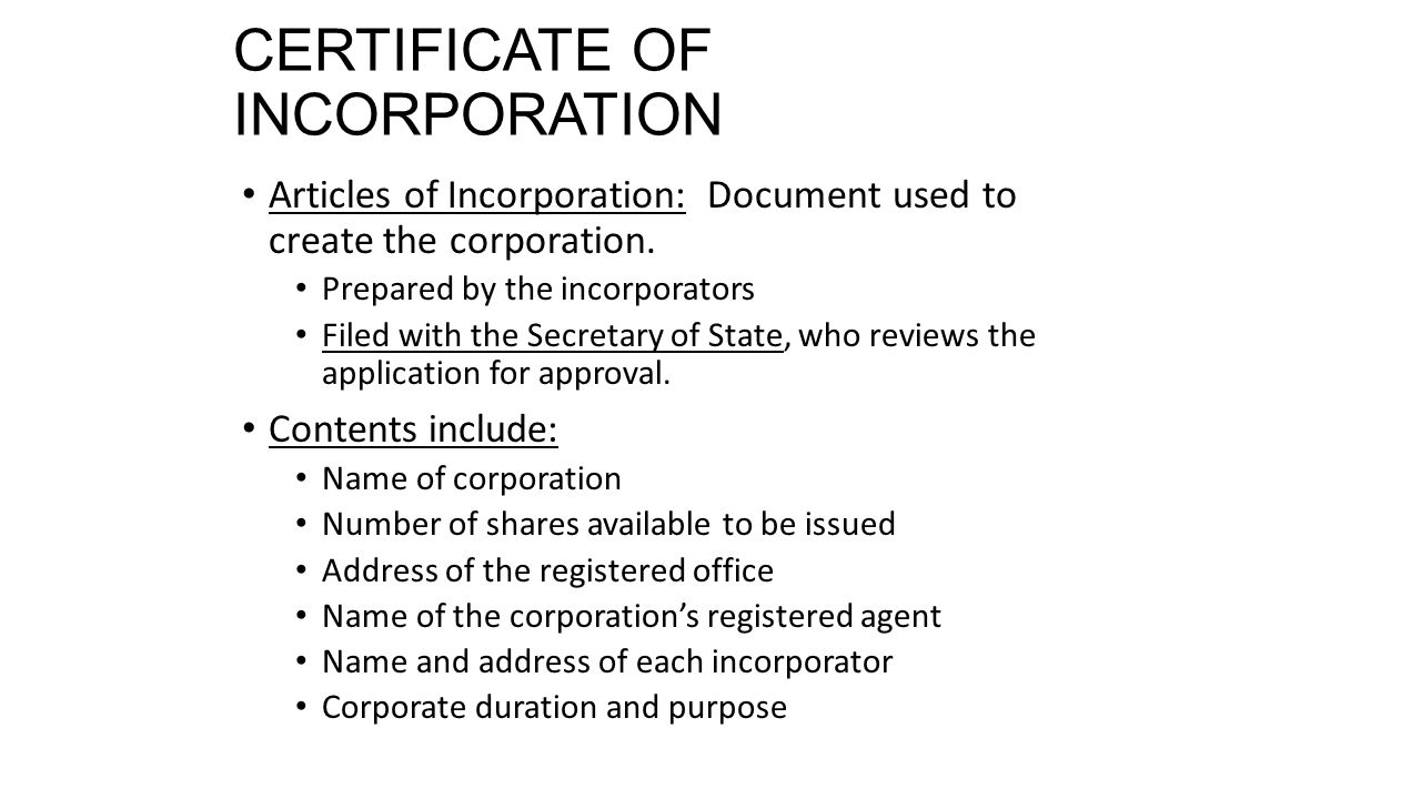 Starting a business ppt video online download certificate of incorporation xflitez Gallery