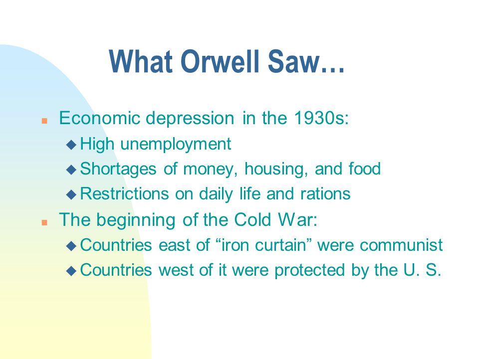 orwell s views on totalitarianism and democratic Based on orwell's own writing and self-appraisal,  wrong about orwell being on the right  against totalitarianism and for democratic socialism,.