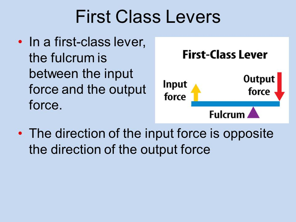 Lever Input And Output Force : Simple machines ppt video online download