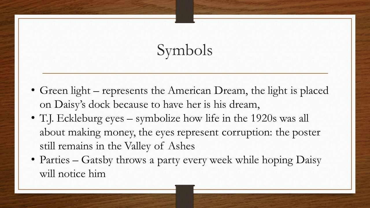 the significance of money in the great gatsby by f scott fitzgerald It was when curiosity about gatsby was at its highest that the lights in his house failed to go on one saturday night—and, as obscurely as it had begun, his career as trimalchio.