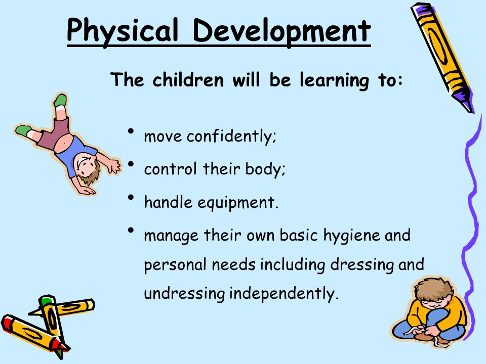 physical development in preschoolers early years foundation stage ppt 230