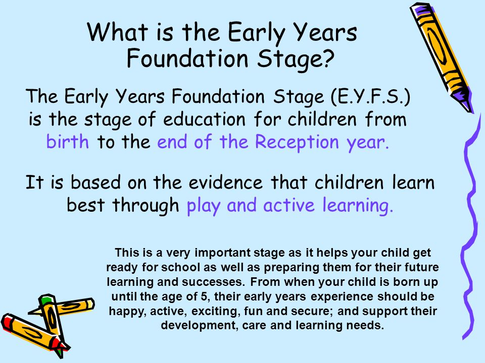 Early Years Foundation Stage: Children play at ... - YouTube