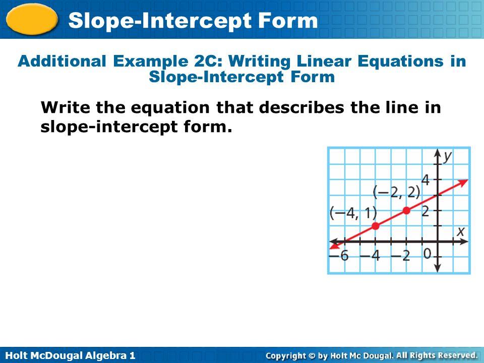 slope intercept form with undefined slope  Write An Equation In Slope Intercept Form With An Undefined ...
