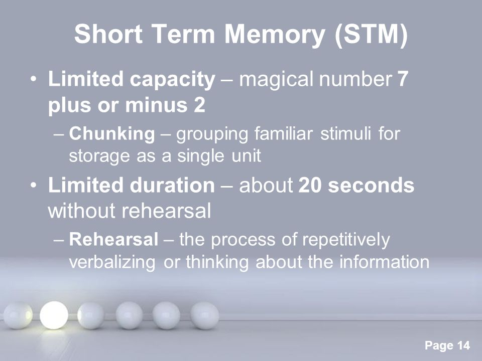memory system from stimuli into long term memory Your auditory system and only a few stimuli pass into the next page provides details on how information is stored in short-term and long-term memory.