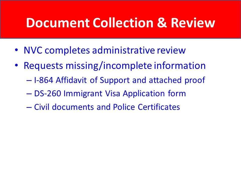 i 864 affidavit of support instructions