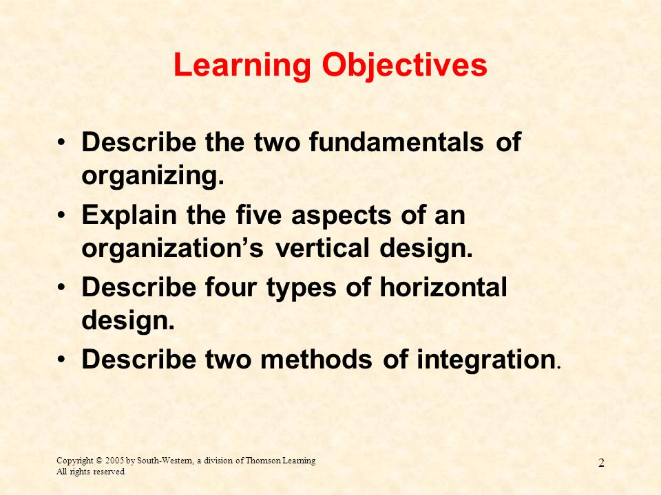 describe the learning organization utilizing the Thus, the result of established procedures is more time for teaching and learning classroom organization classroom management and organization are intertwined describe mandrel's management strategy.
