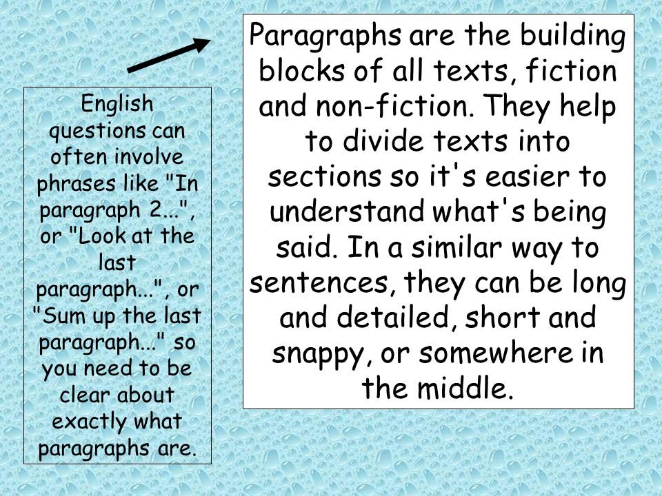 english skills sentences and paragraphs ppt download