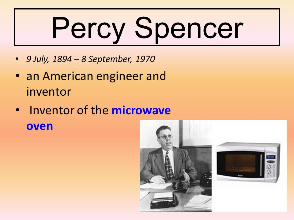 the invention of the microwave and description of how its works Especially the a thorough description of the parts what can you tell me about microwave telescopes especially the a thorough description of the parts.