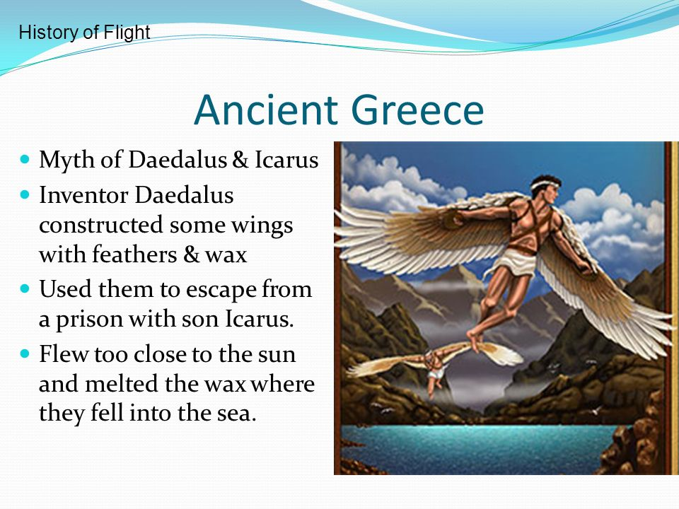 Ancient Greece Myth of Daedalus & Icarus - ppt video ...
