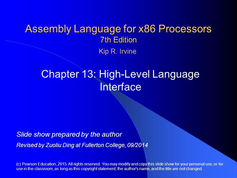 assembly language essay