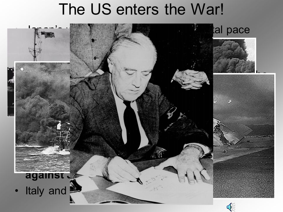 The US enters the War! Japan's war in Asia continued at a brutal pace