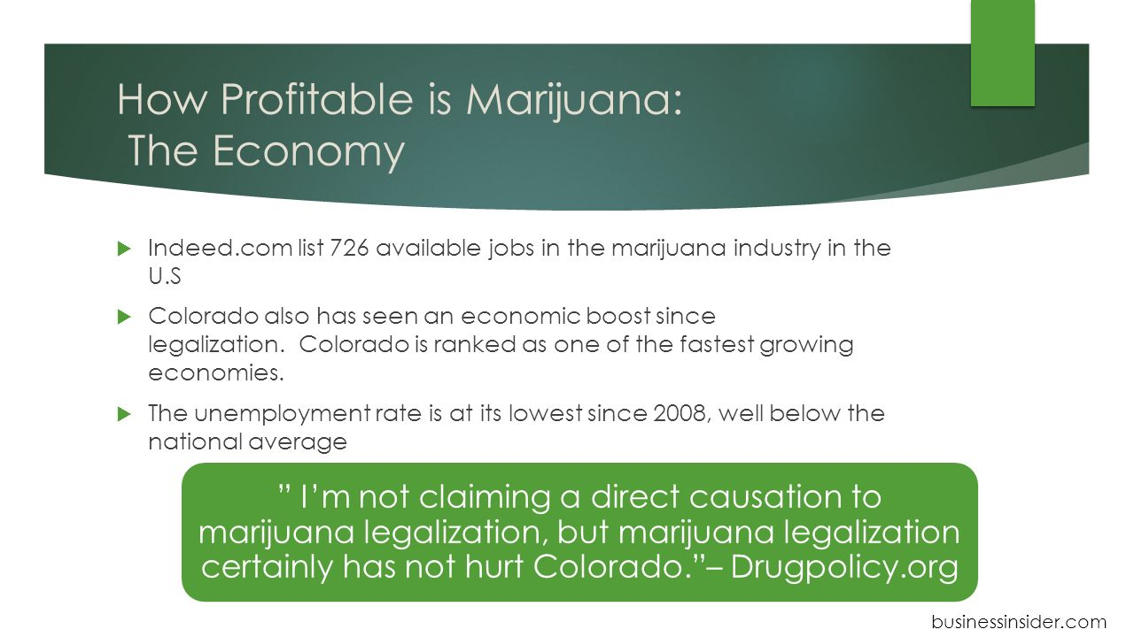 Marijuana Legalization and Taxes: Lessons for Other States from Colorado and Washington