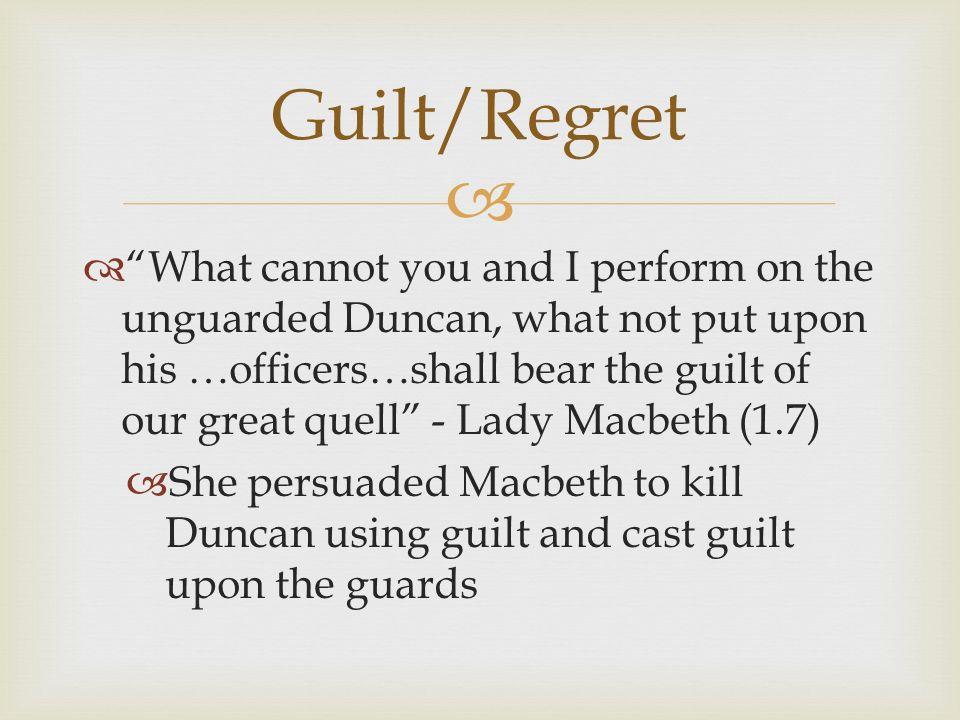 Macbeth - themes