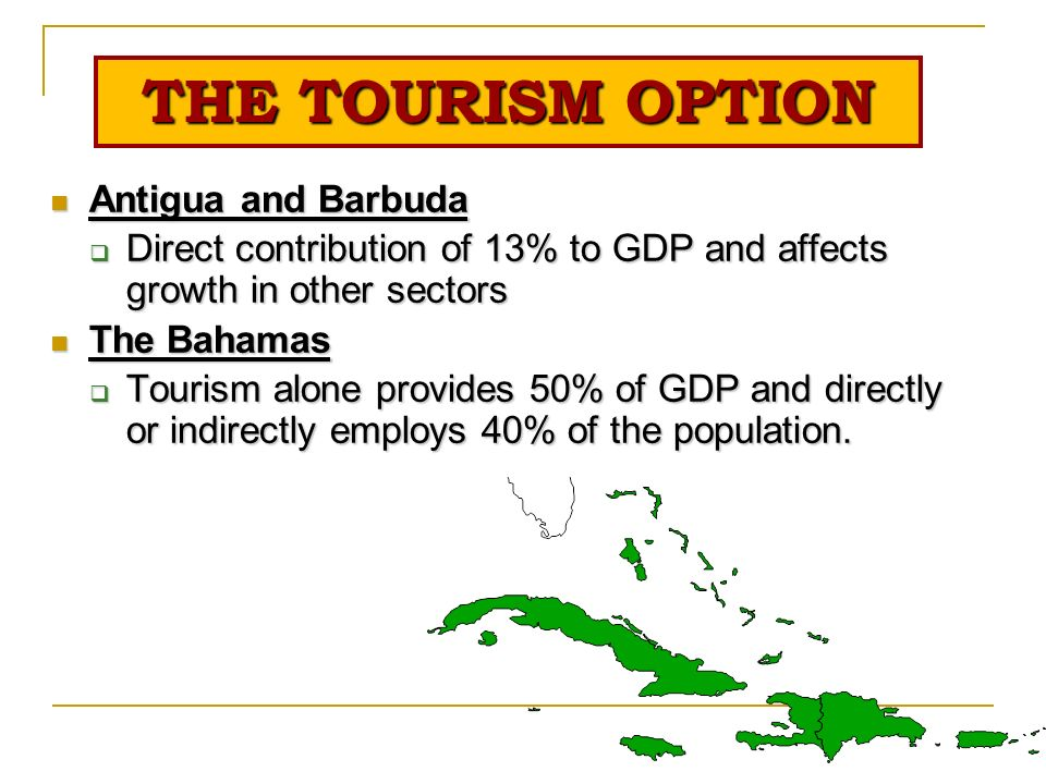 disadvantages of tourism in the bahamas The advantages & disadvantages of tourism in the bahamas josh banyak updated april 17, 2017 the bahamas is one of the most popular and well-known tourist destinations in the caribbean.