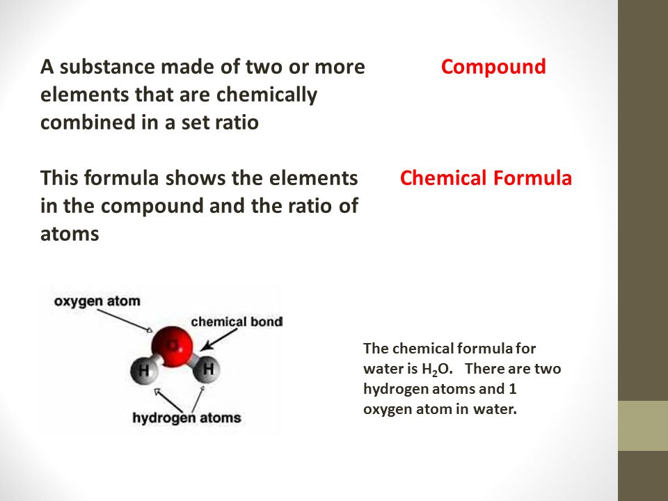 A substance made of two or more Compound elements that are chemically