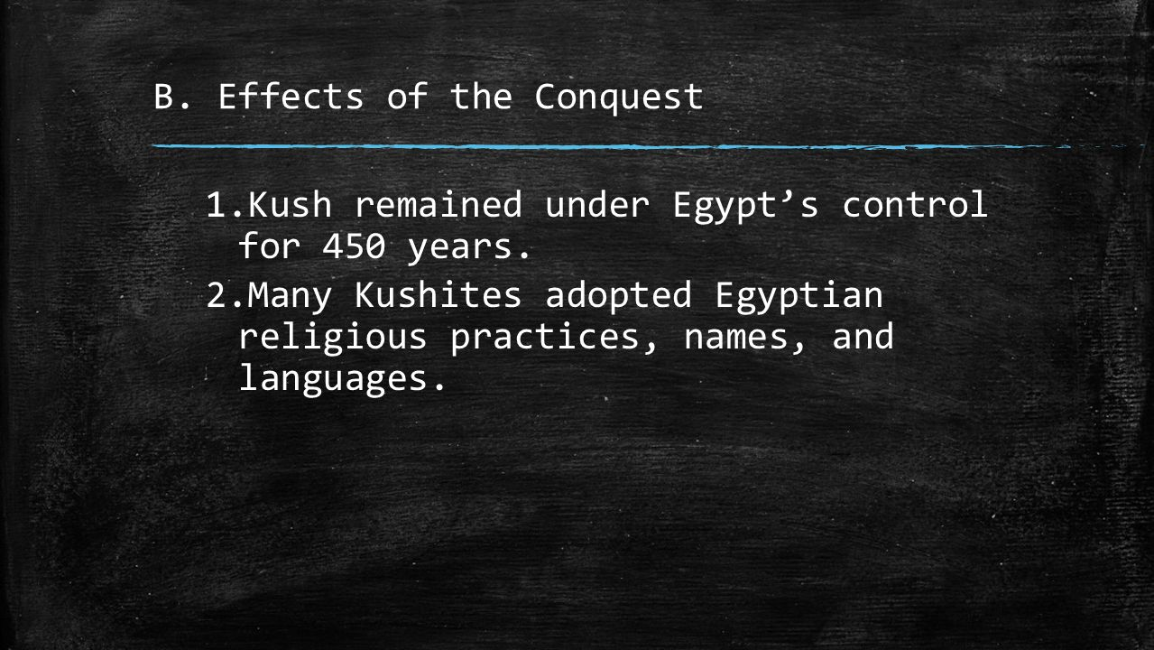 Chapter 4 – Ancient Egypt and Kush - ppt video online download