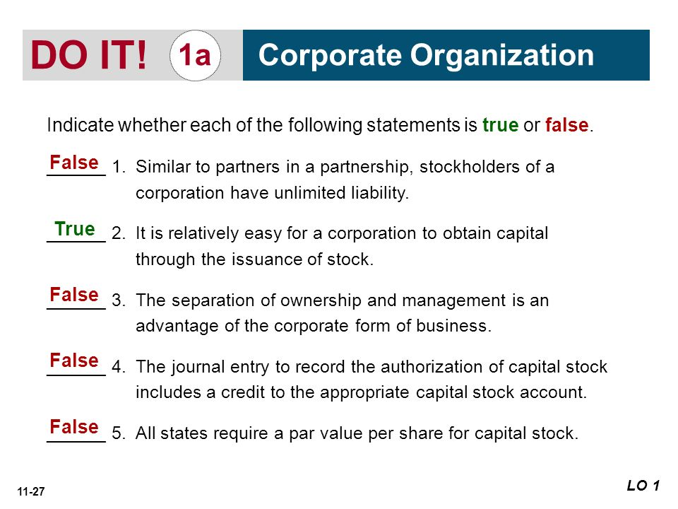 11 Corporations: Organization, Stock Transactions, Dividends, and ...