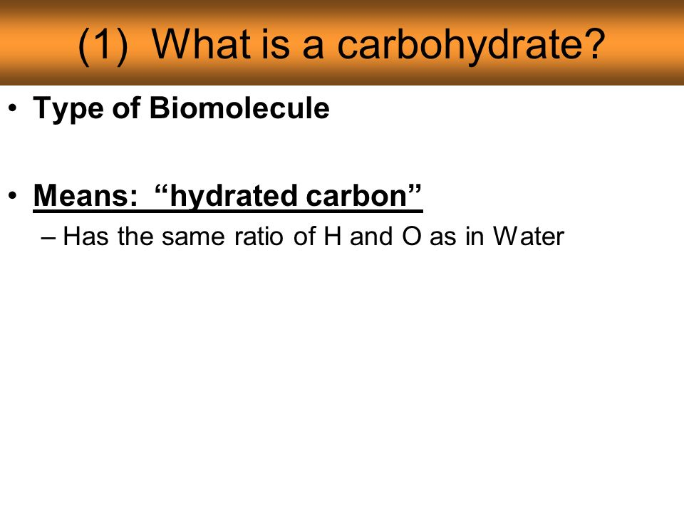 notes: unit 1--carbohydrates - ppt download, Human Body