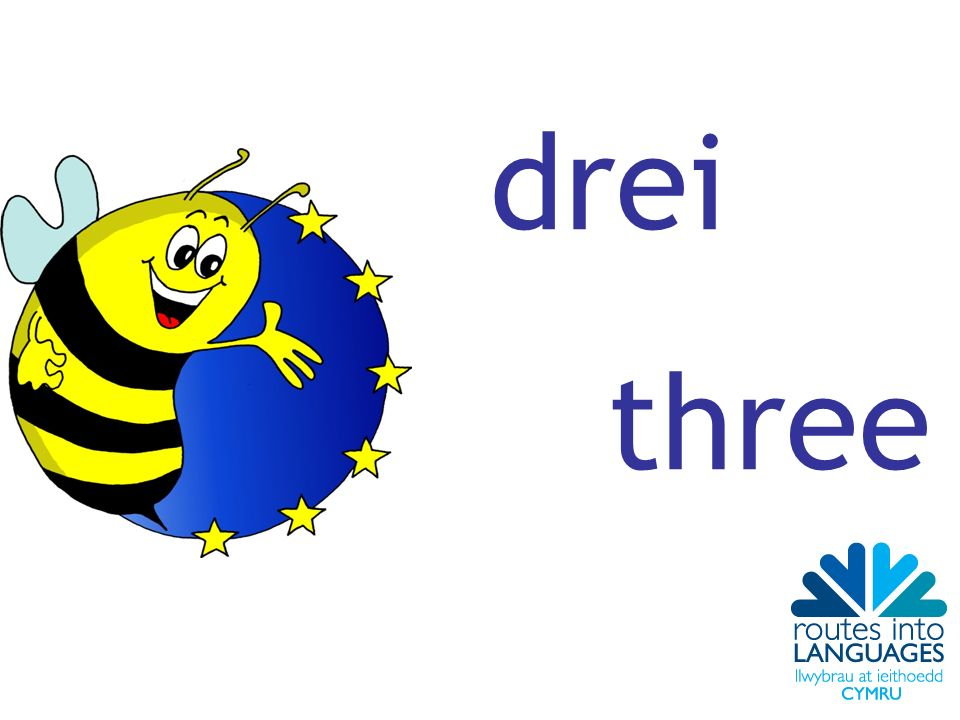 drei three