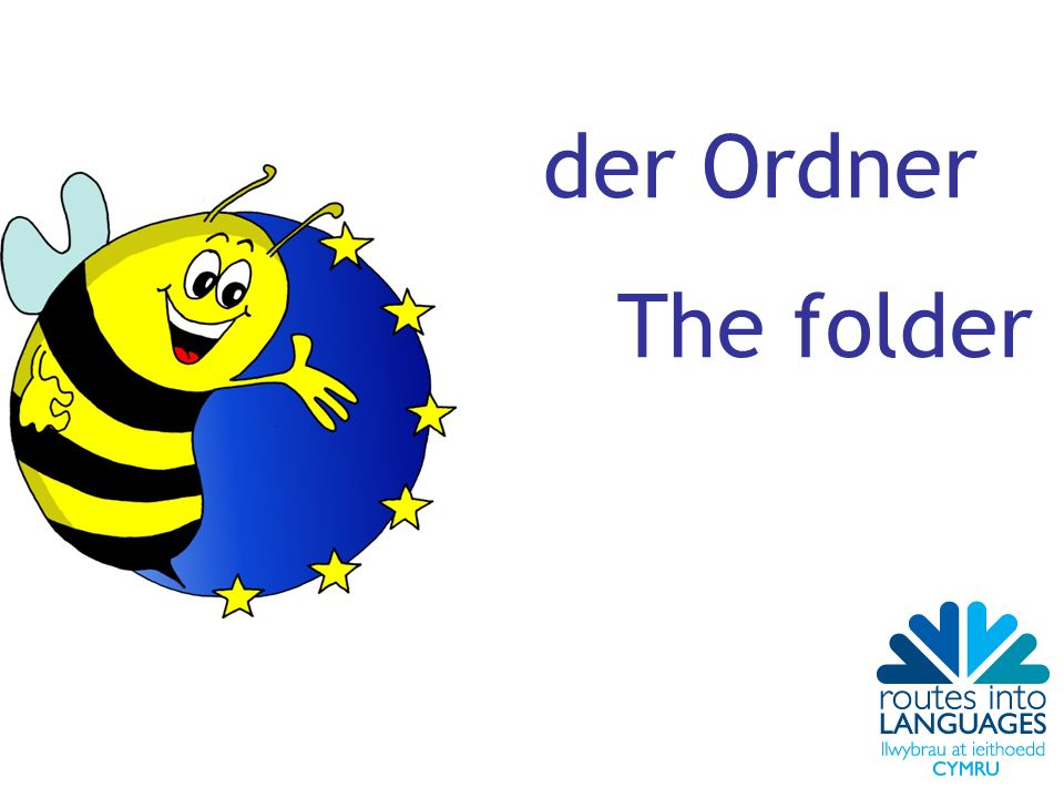 der Ordner The folder