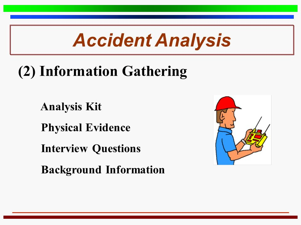 accident analysis Accident reconstruction is a forensic engineering office that offers a full array of testing and investigative tools.