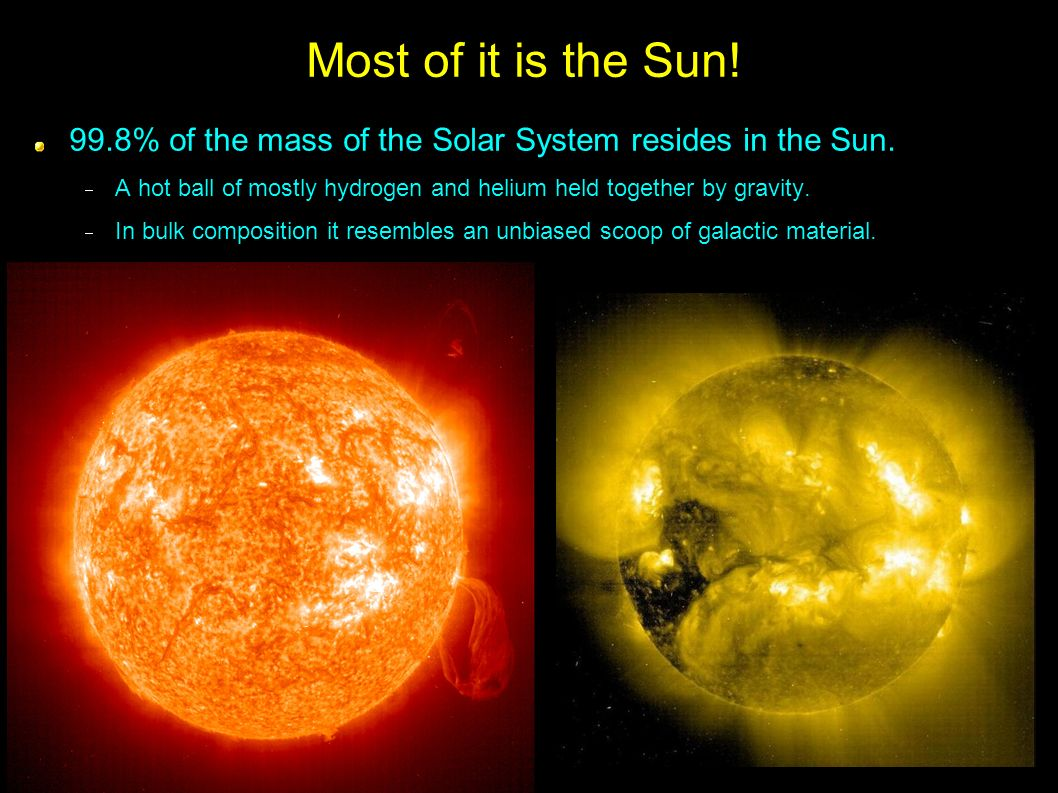 how to find the mass of the sun
