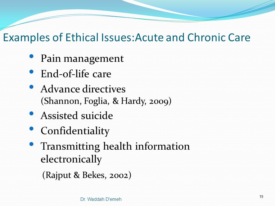 Issues with End-of-Life Care in Nursing Essay Sample