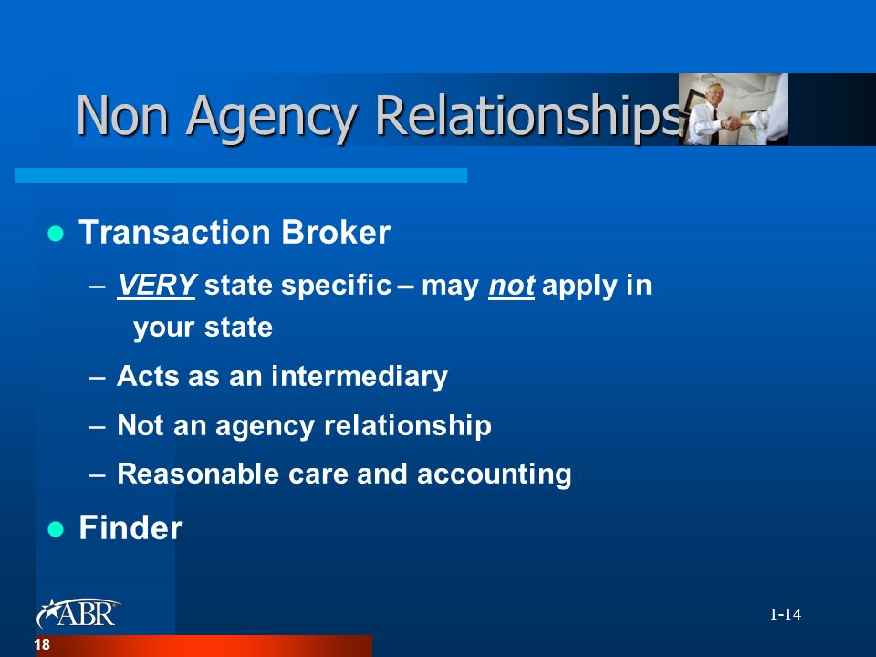intermediary brokerage relationship and ethics
