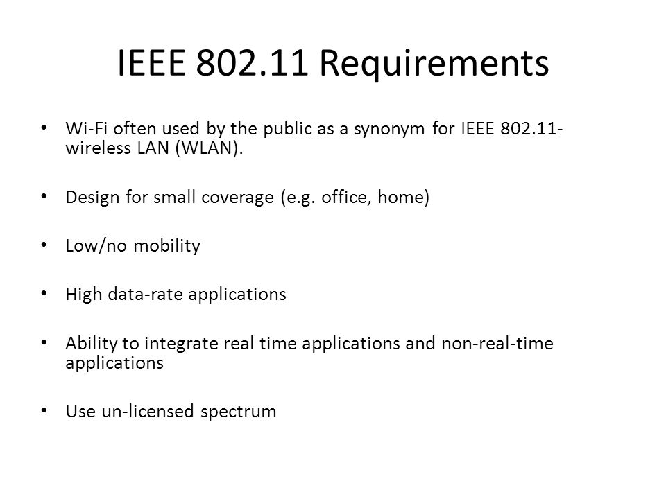 Universit t karlsruhe institut f r telematik ece ppt download for Ieee 802 11 architecture