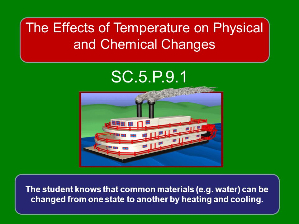what occurs more often physical or chemical changes Physical and chemical changes return to matter menu go to a few questions on physical and chemical changes i physical changes a physical change is any change not involving a change in the substance's chemical identity here's another way to say it.
