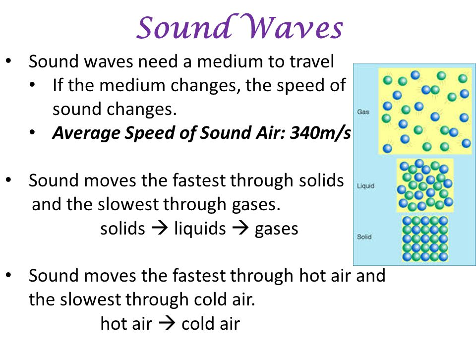 sounds waves and the speed of sounds Acoustics is the interdisciplinary science that deals with the study of mechanical waves in gases, liquids, and solids including vibration, sound, ultrasound, and infrasound.