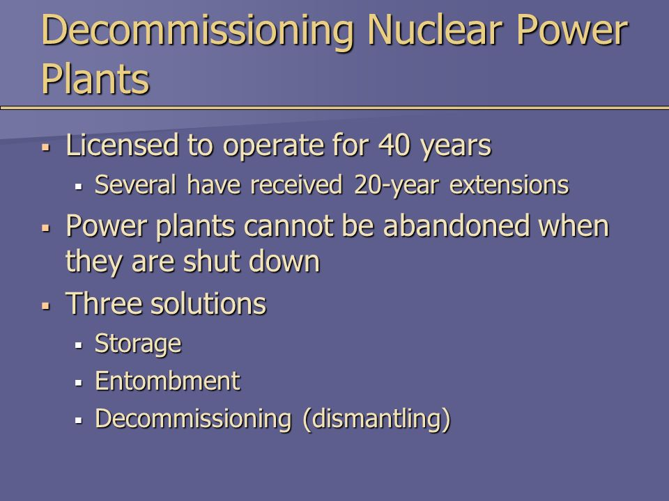 Chapter 12 Nuclear Energy - ppt download