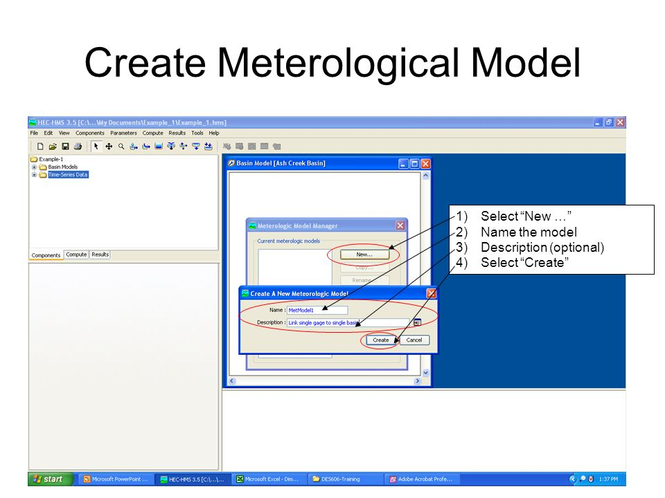 Elementary Hec Hms Model Ppt Video Online Download