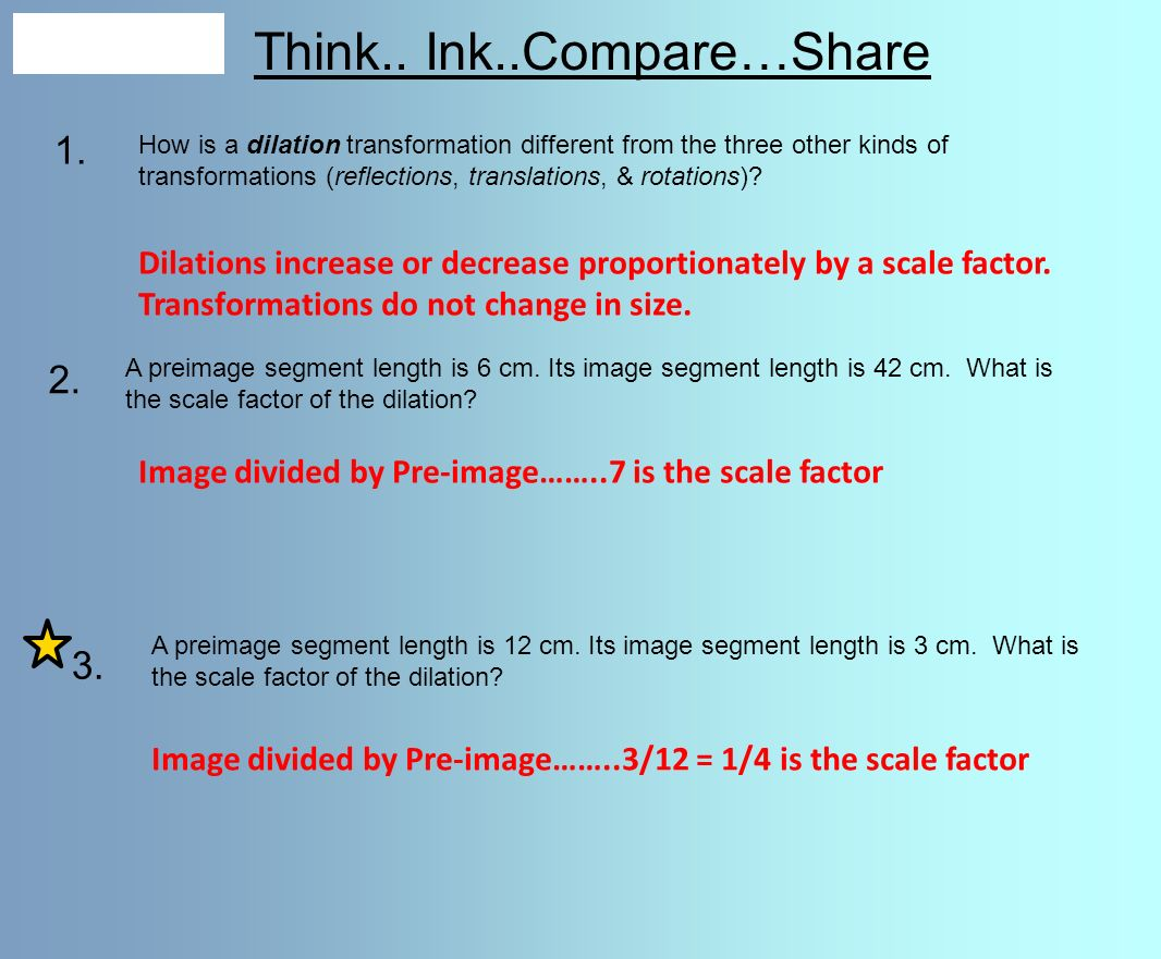 Think.. Ink..Compare…Share - ppt video online download