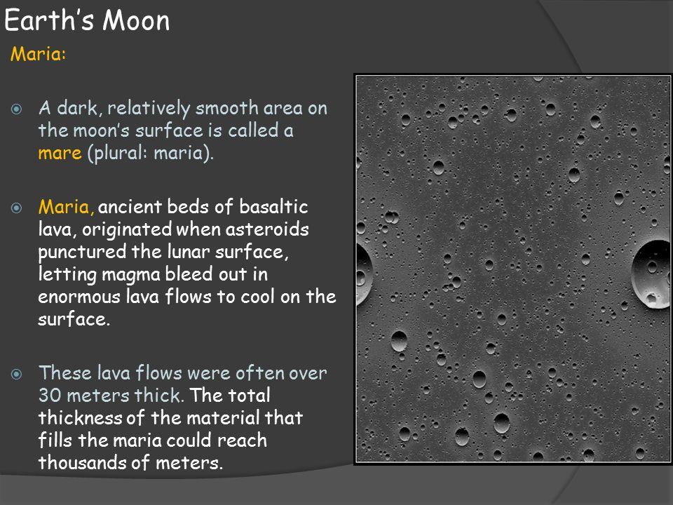 Lunar maria  creationcom