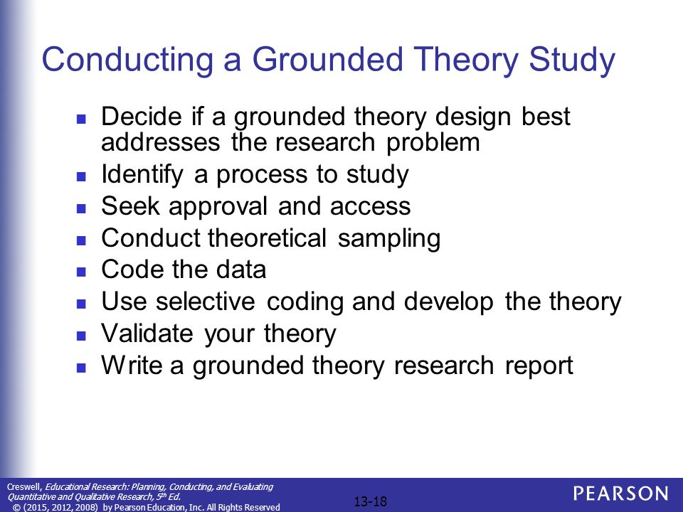 What is grounded theory? | Evidence-Based Nursing