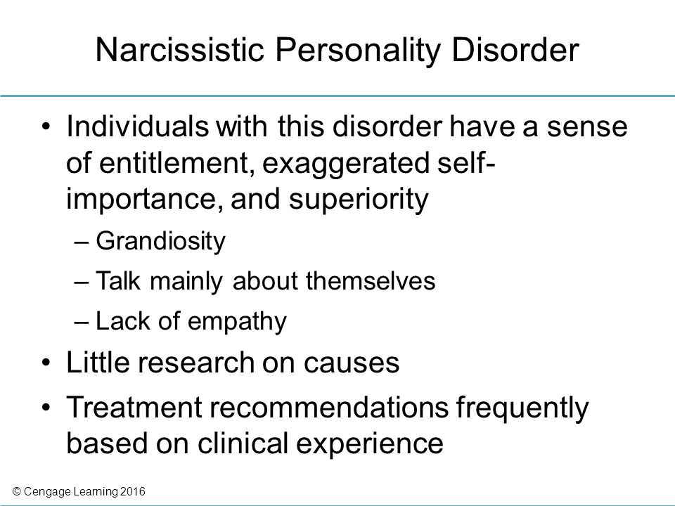 Narcissistic Personality Disorder and Substance Abuse: Signs, Symptoms, and Treatment