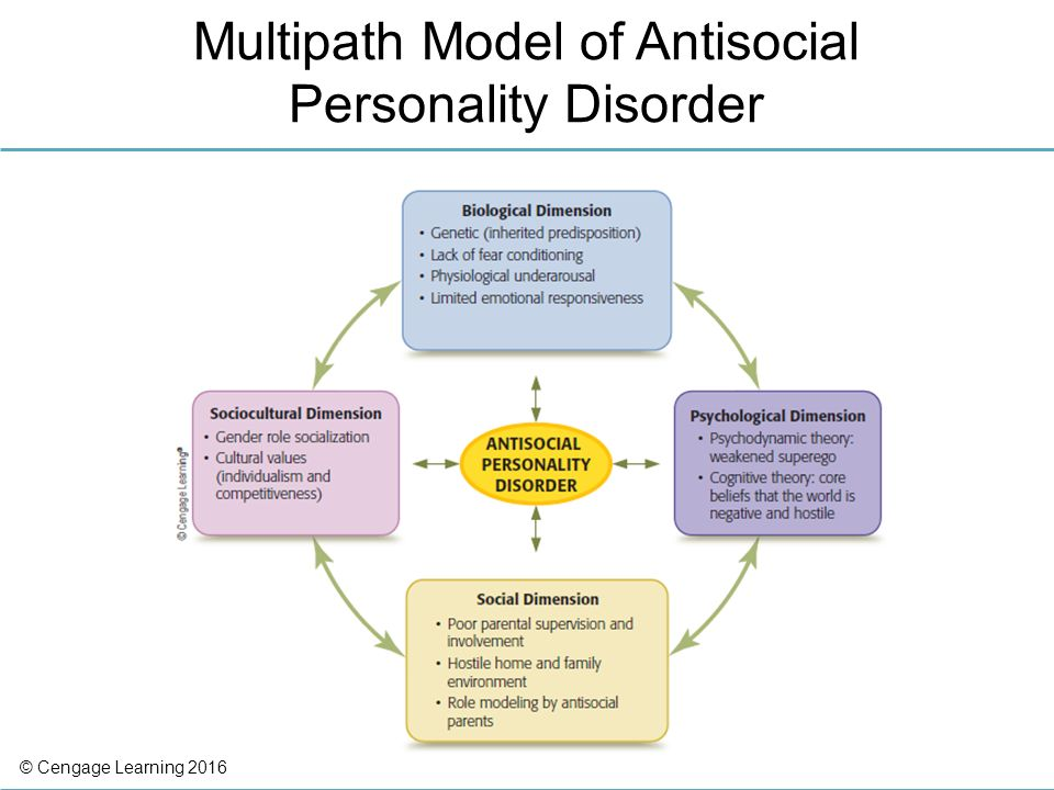 an analysis of the features of anti social personality disorder One criticism of the dsm-5 is that the features of antisocial personality disorder do not fully map onto the construct of psychopathy some researchers are concerned that ________ the aspd diagnosis was made reliable at the expense of the validity of the psychopathy diagnosis.