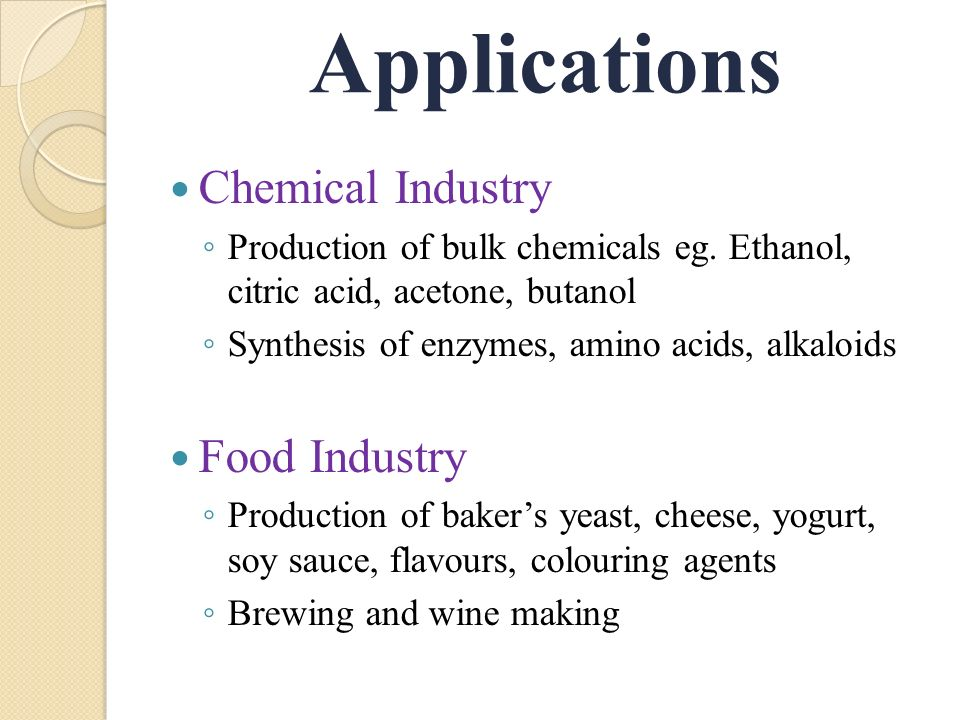 importance of yeast in food industry pdf